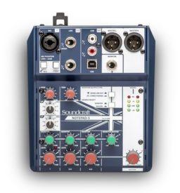Mezcladora Análoga USB Soundcraft Notepad-5