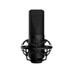 BOYA BY-M1000 Micrófono de Estudio de Condensador Multipatrón de Gran Diafragma