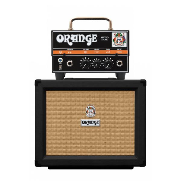 Combo Orange Gabinete PP108 (Black) + Cabezal Micro Dark