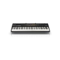 Piano StudioLogic NUMA COMPACT 2X Una selección de los 12 mejores sonidos de su clase fáciles de administrar a través de un panel de control directo.El instrumento proporciona increíbles sonidos de piano basados en 9 niveles dinámicos interpolados en tiempo real y parámetros de sonoridad.